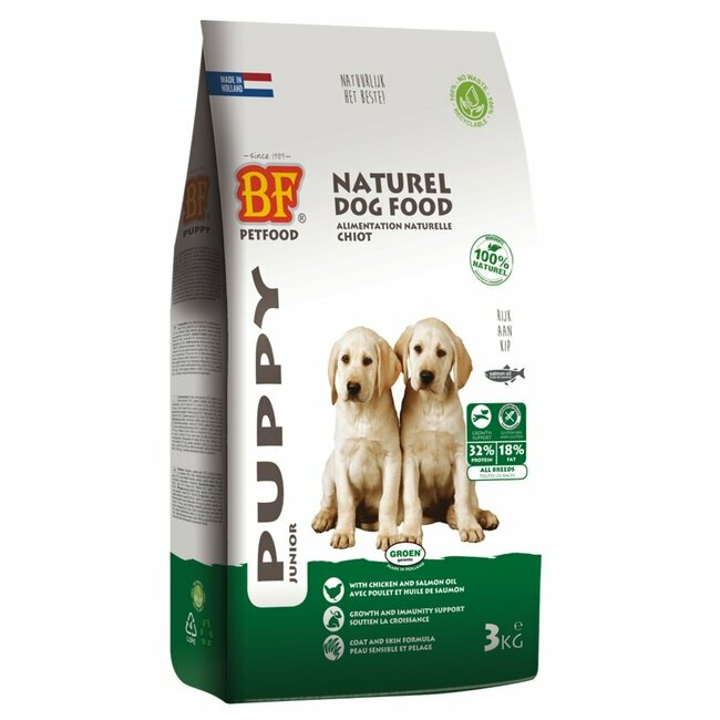 Alimentation pour chien croquettes naturelles ou bio croquettes naturelles pour chiot puppy - Croquette sans cereales chiot ...