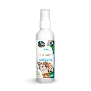 Lotion dentaire, dentifrice naturel