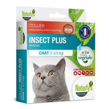 Collier Insect Plus Chat