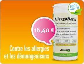 Allergoderm allergie du chien et du chat