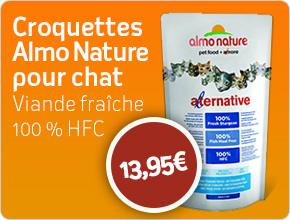 croquette naturelle pour chat Almo Nature Alternative viande fraîche
