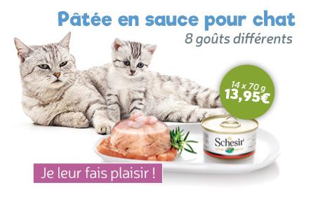 boites naturelles pour chat Schesir