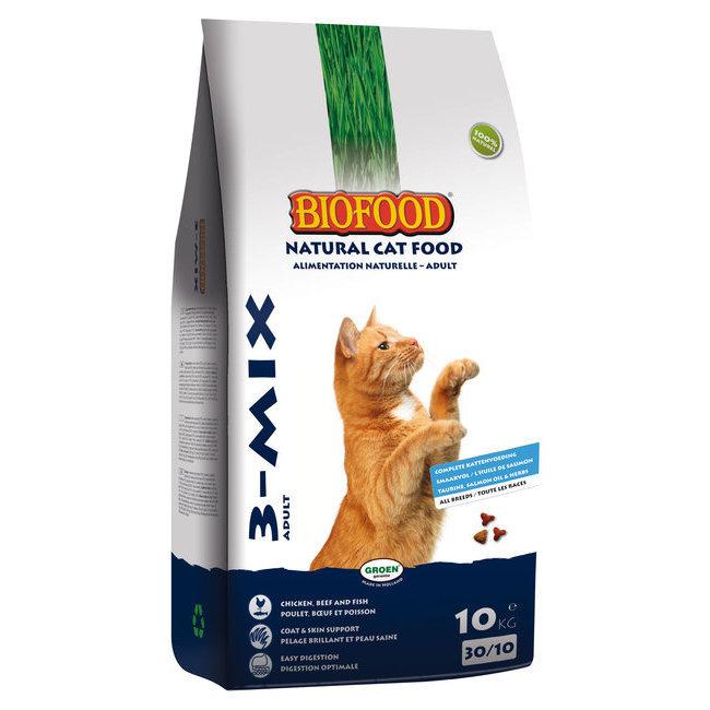 alimentation du chat croquettes naturelles ou bio croquettes pour chat kat 3 mix biofood