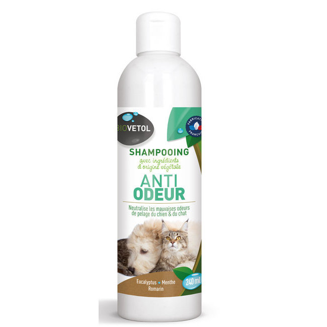 soins et hygi ne du chien shampooing et apr s shampooing shampooing anti odeur la menthe. Black Bedroom Furniture Sets. Home Design Ideas