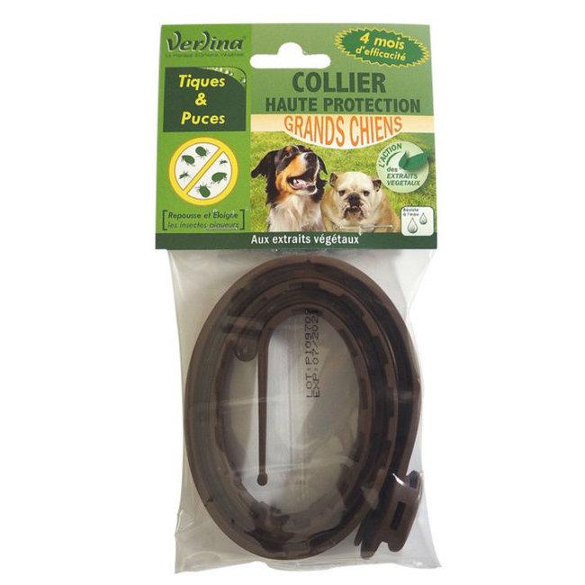 nouveaut s collier insectifuge tique et puce pour chien. Black Bedroom Furniture Sets. Home Design Ideas