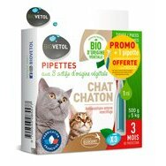 Pipettes insectifuges BIO Chat Chaton par 3