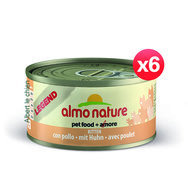 Almo Nature CHATON, Tradition, Poulet, 6 x 70 g