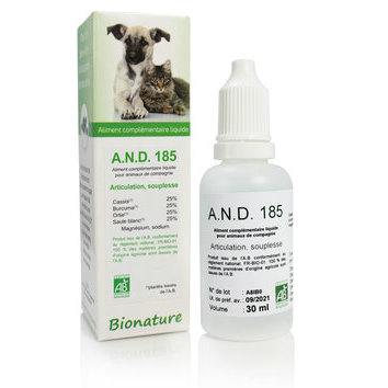 A.N.D. 185 Articulation Souplesse 30 ml Bionature