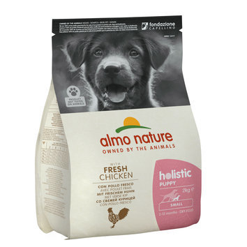 Croquettes Small puppy Chiot petite taille 2 kg Almo Nature