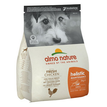 Croquettes petit chien Small Holistic 2 kg Almo Nature