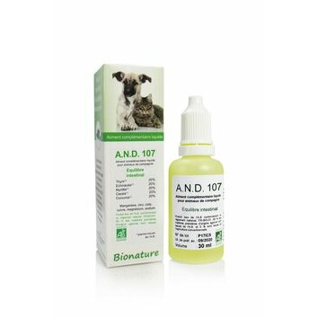 A.N.D. 107 Equilibre transit intestinal 30 ml Bionature