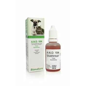 A.N.D. 104 Force et dynamisme 30 ml Bionature