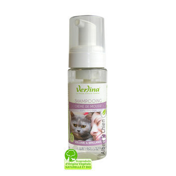 Shampooing sec pour chat, VOLUME, BRILLANCE