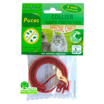 Collier insectifuge puce chat