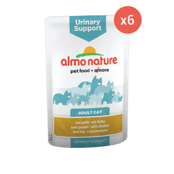 Sachet pour chat URINARY SUPPORT 6 x 70 g