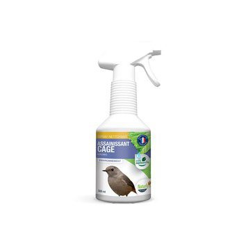 Spray nettoyant Assainissant Cages