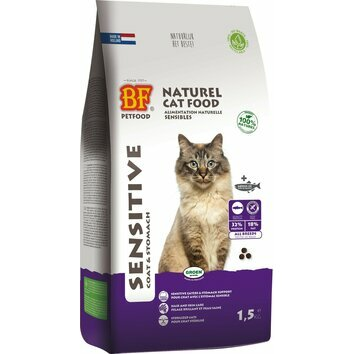 Croquettes naturelles pour chat Sensitive BF Petfood Biofood