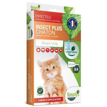 Pipettes Insect Plus Chaton