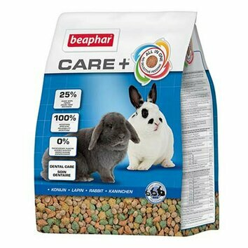 Aliment complet pour lapin Adulte Care + Beaphar