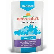 Pâtée pour chat Sterilised Almo Nature 30 x 70 g