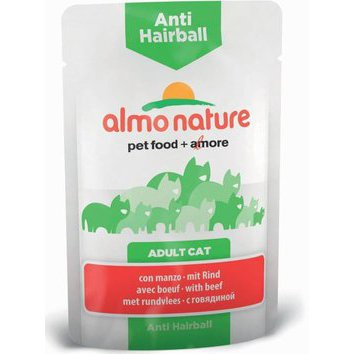 Pâtée pour chat Hairball Almo Nature 30 x 70 g