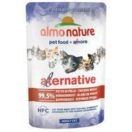 Pâtée pour chat Alternative Almo Nature 24 x 55 g
