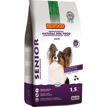 Boutique du chien nouveaut s pour chien croquettes pour chien senior mini 1 5 kg biofood - Croquette pour chien fait maison ...