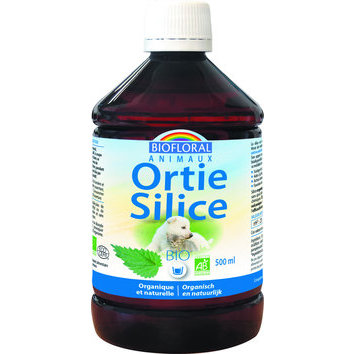Ortie Silice Bio pour animaux 500 ml Biofloral