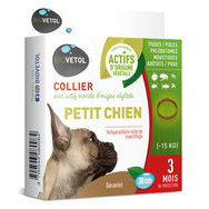 Collier insectifuge Petit Chien - 15 kg