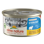 Pâtée Mousse Chat Sterilised Almo Nature 24 x 85 g