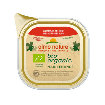 Pâtée Bio Almo Nature chat 19 x 85 g