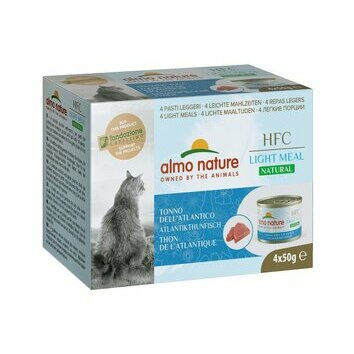 Boites chat HFC Light Meal naturel 4 x 50 g Almo Nature