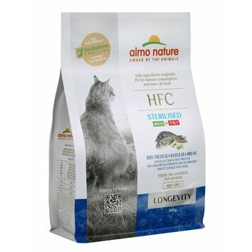 Croquettes chat Senior HFC Longevity Sterilised Almo Nature