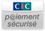 Paiement sécurisé par le CIC